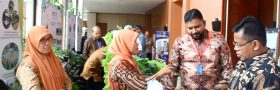 Karya daur ulang Sampah untuk Lokakarya Internasional IMT-GT