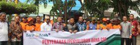 PT. Bank Aceh Syariah Salurkan Dana CSR Berupa Paket Lebaran Kepada Pekerja DLHK3 Banda Aceh